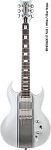 DBZ DIAMOND RENSTP14-WHSS RENEGADE PLUS WHITE/SILVER STRIPES